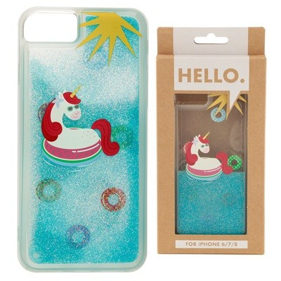 iPhone 678 Phone Case - Tropical Vacation Vibes Unicorn