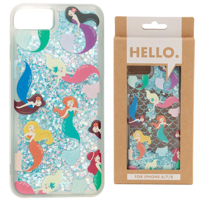 iPhone 678 Phone Case - Mermaid Design