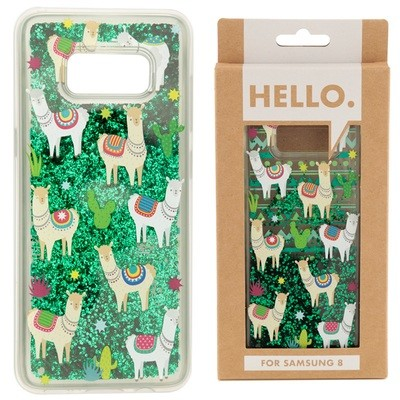 Samsung 8 Phone Case - Llama Design