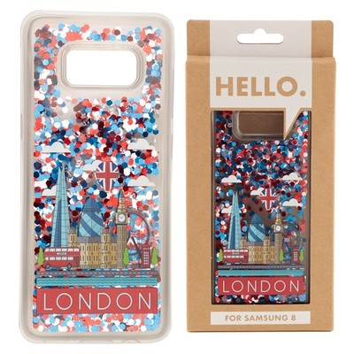 Samsung 8 Phone Case - London Icons Design
