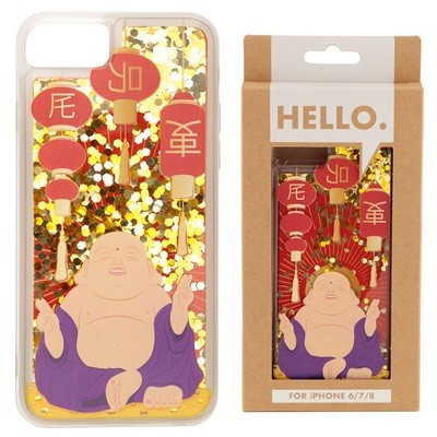 iPhone 678 Phone Case - Lucky Buddha Design