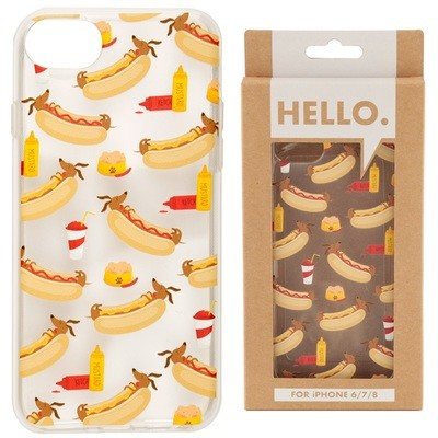 iPhone 678 Phone Case - Hot Dog Fast Food Design