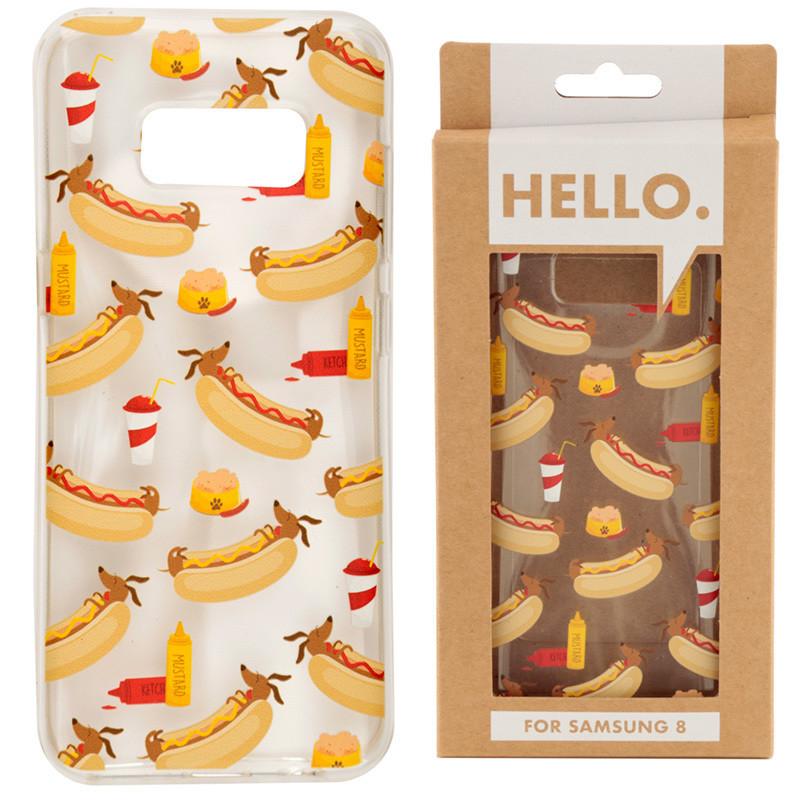 Samsung 8 Phone Case - Hot Dog Fast Food Design