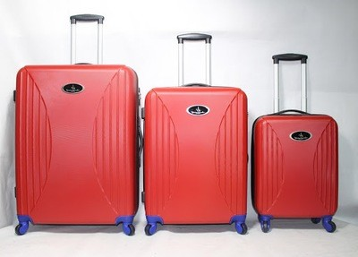 Set of 3 Kondor Travel Smart Suitcase