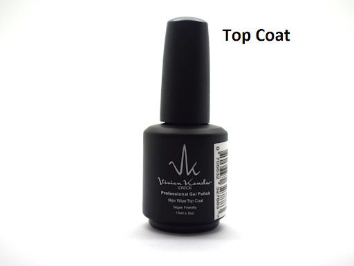 Vivien Kondor - Professional Gel Polish Non Wipe Top Coat