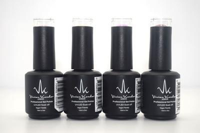 Vivien Kondor - Professional Gel Polish 4 Colours Bundle