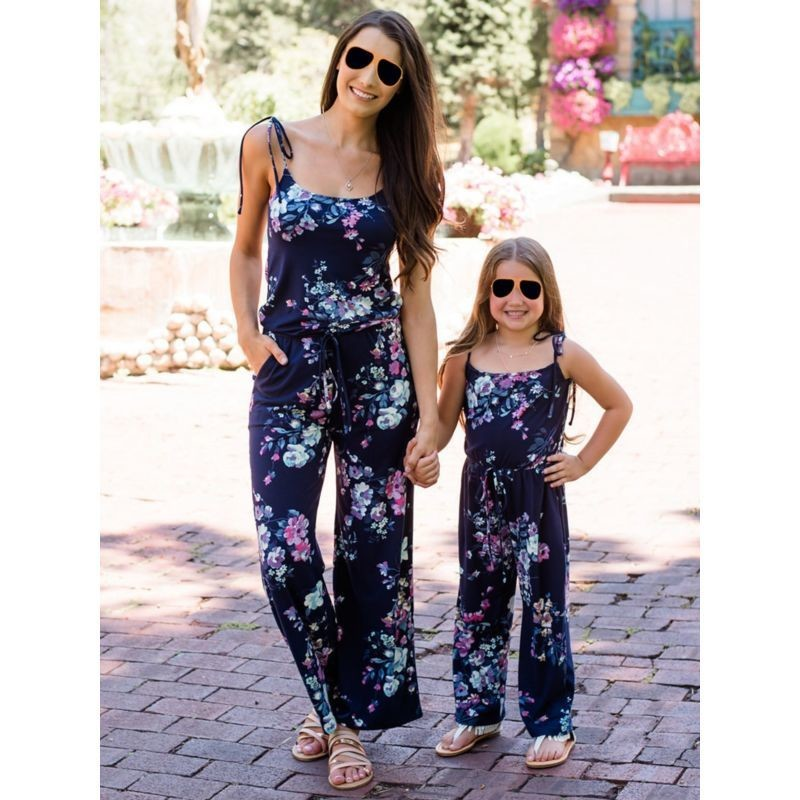 Mum & Me Flower Jumpsuit