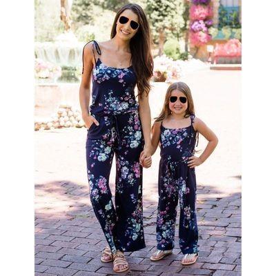 Mum & Me Flower Jumpsuit