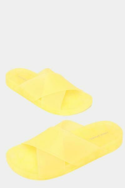 Yellow Transparent Jelly Sliders