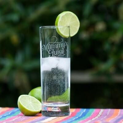 Mummy's Juice Gin & Tonic Glass