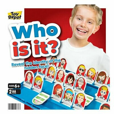 WHO IS IT? BOARD GAME