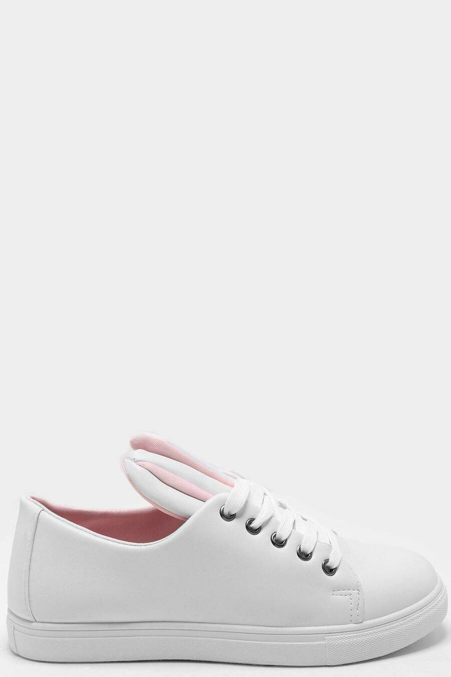 PINK DETAILS WHITE BUNNY EARS TRAINERS