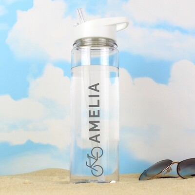 Personalised Bicycle Island Water Bottle