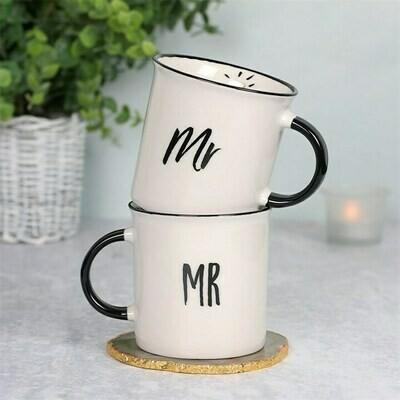 MR AND MR MUG SET