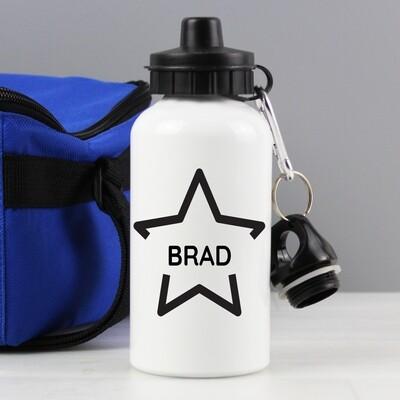 Personalised Star Drinks Bottle