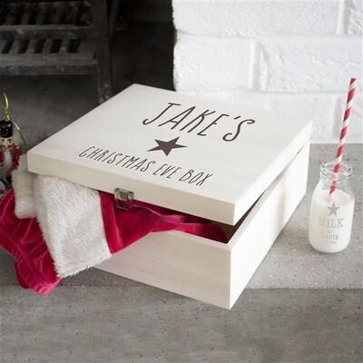 Personalised Kids Star Christmas Eve Box