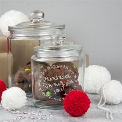 Personalised Christmas Jar