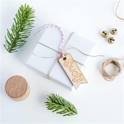 Enjoy Gift Tag - 10pk