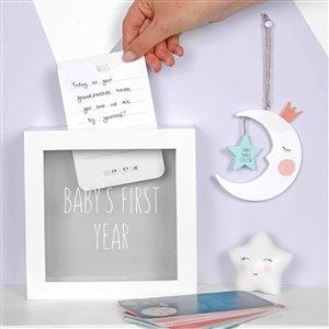 Baby Milestone Cards With Memory Box