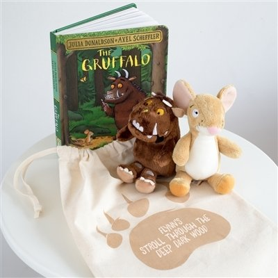 Personalised The Gruffalo Soft Toy & Book