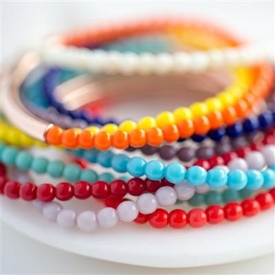 Coloured Stacking Bracelet