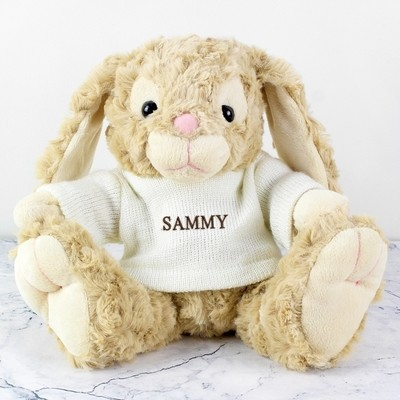Personalised Name Only Bunny - Embroidery