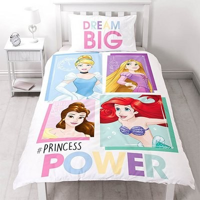 DISNEY PRINCESS BRAVE REVERSIBLE PANEL DUVET SET