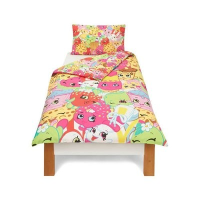 SHOPKINS TROLLEY REVERSIBLE DUVET SET