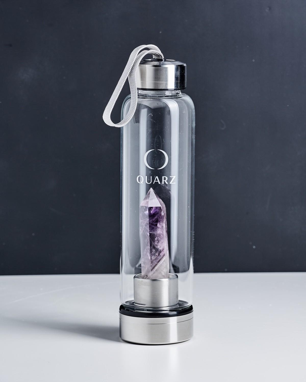 Бутылка с аметистом