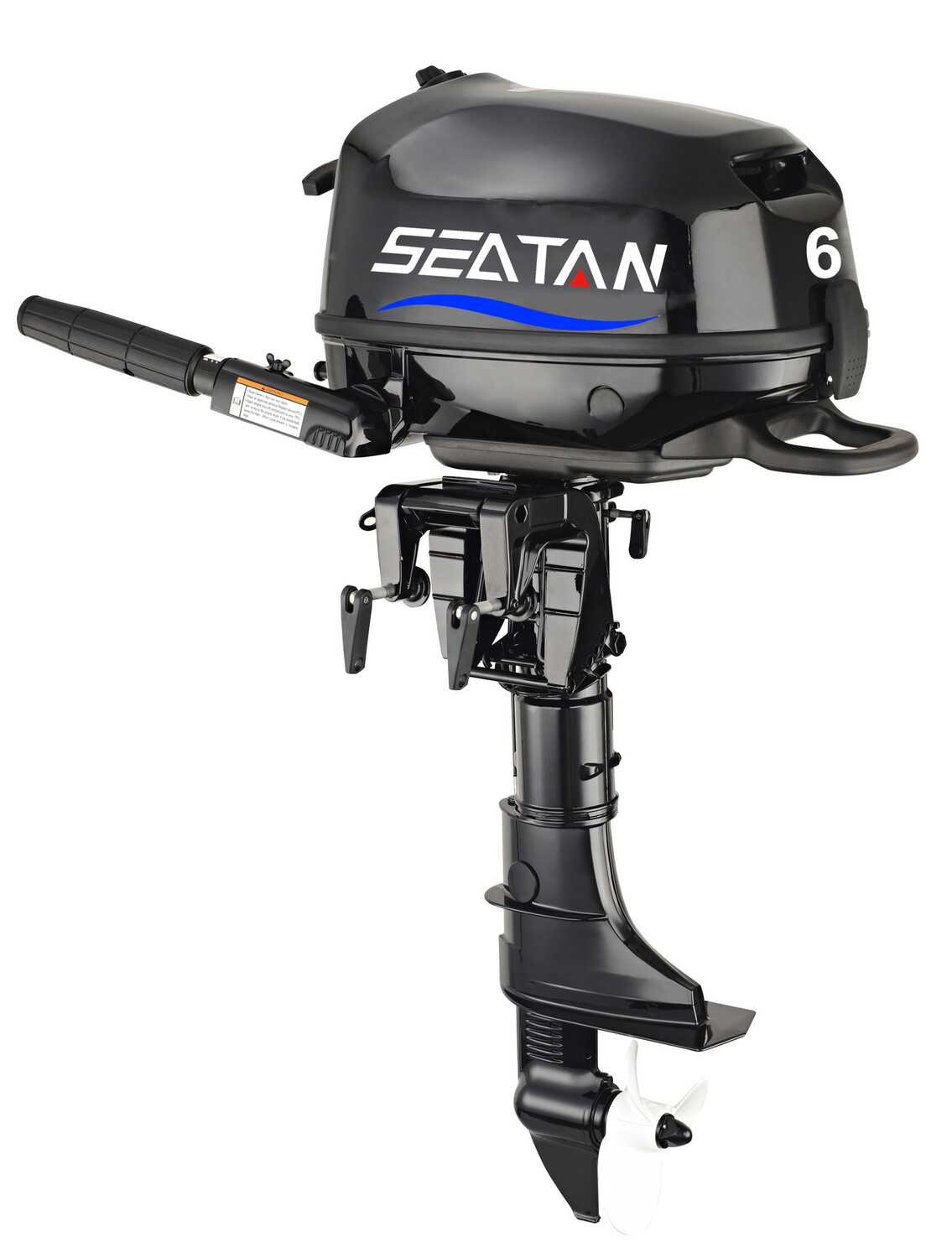 Seatan 6hp 4 Stoke Outboard Engine