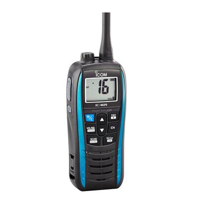 ICOM M25 Buoyant Marine VHF Transceiver Marine Blue