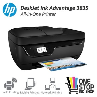 HP Officejet 3835 All in One Wifi printer