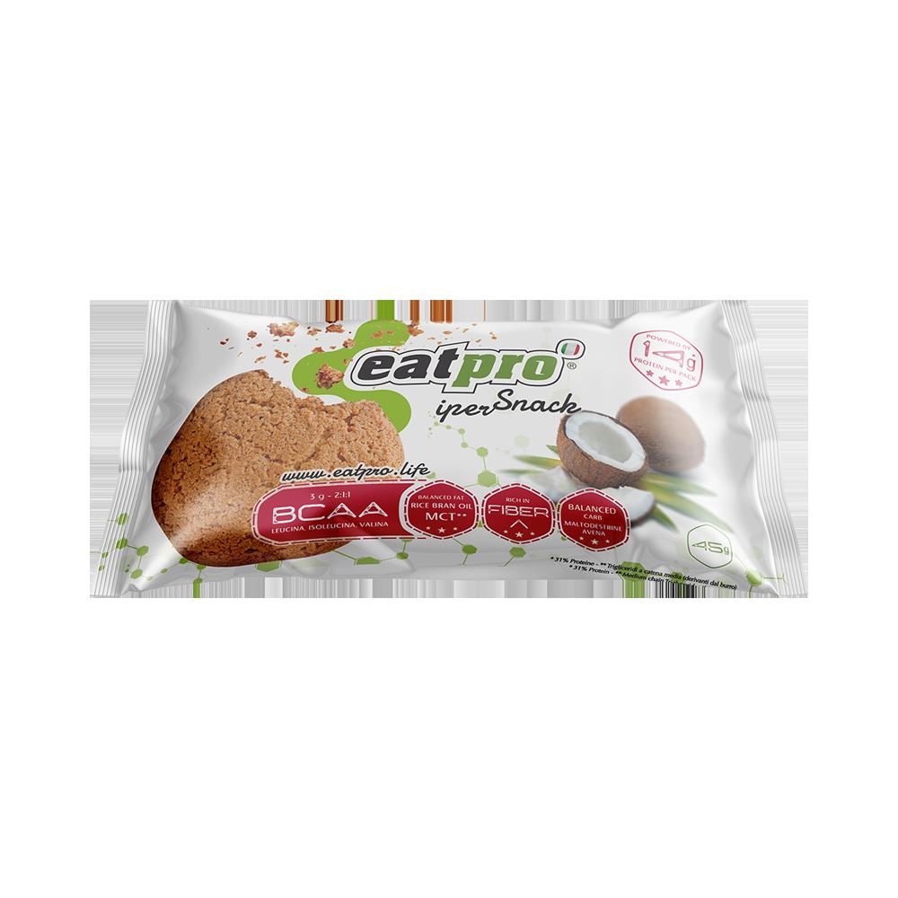 eatPro iperSnack al Cocco, con BCAA EP003