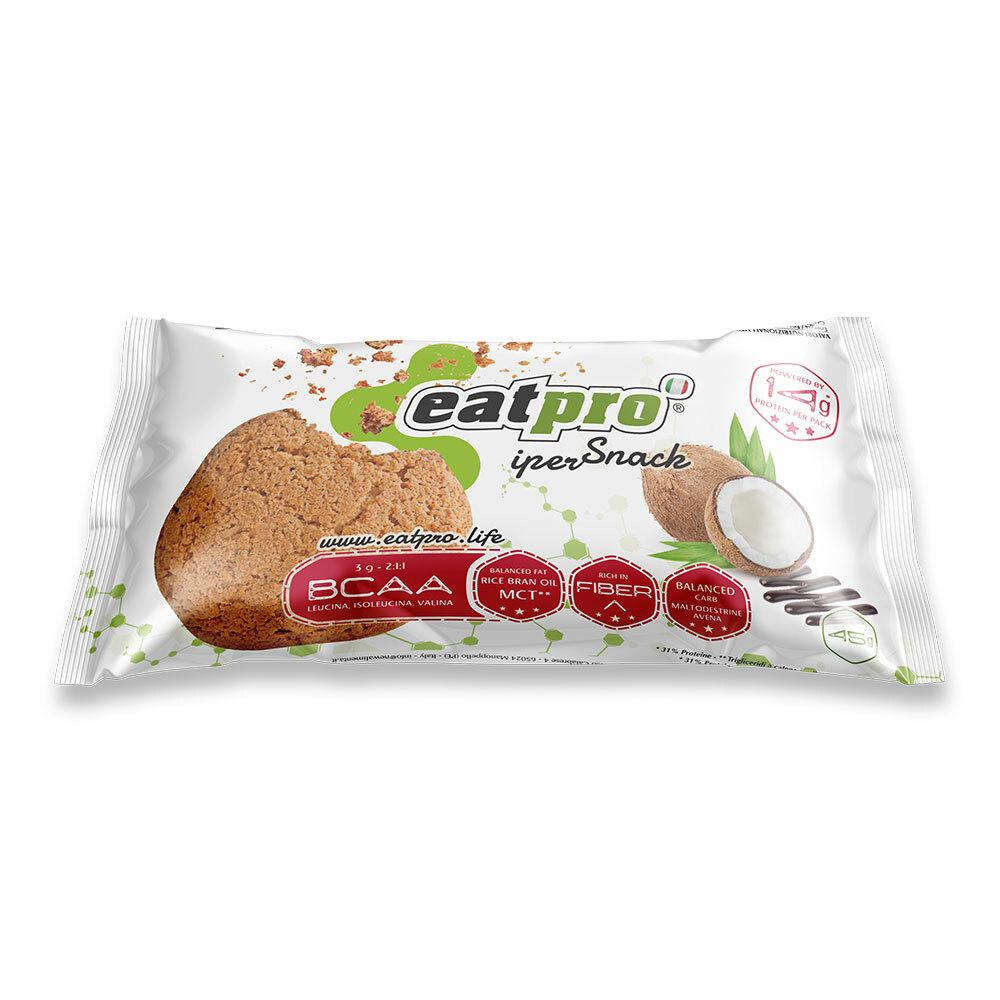 eatPro iperSnack al Cocco glassato al cacao, con BCAA EP020