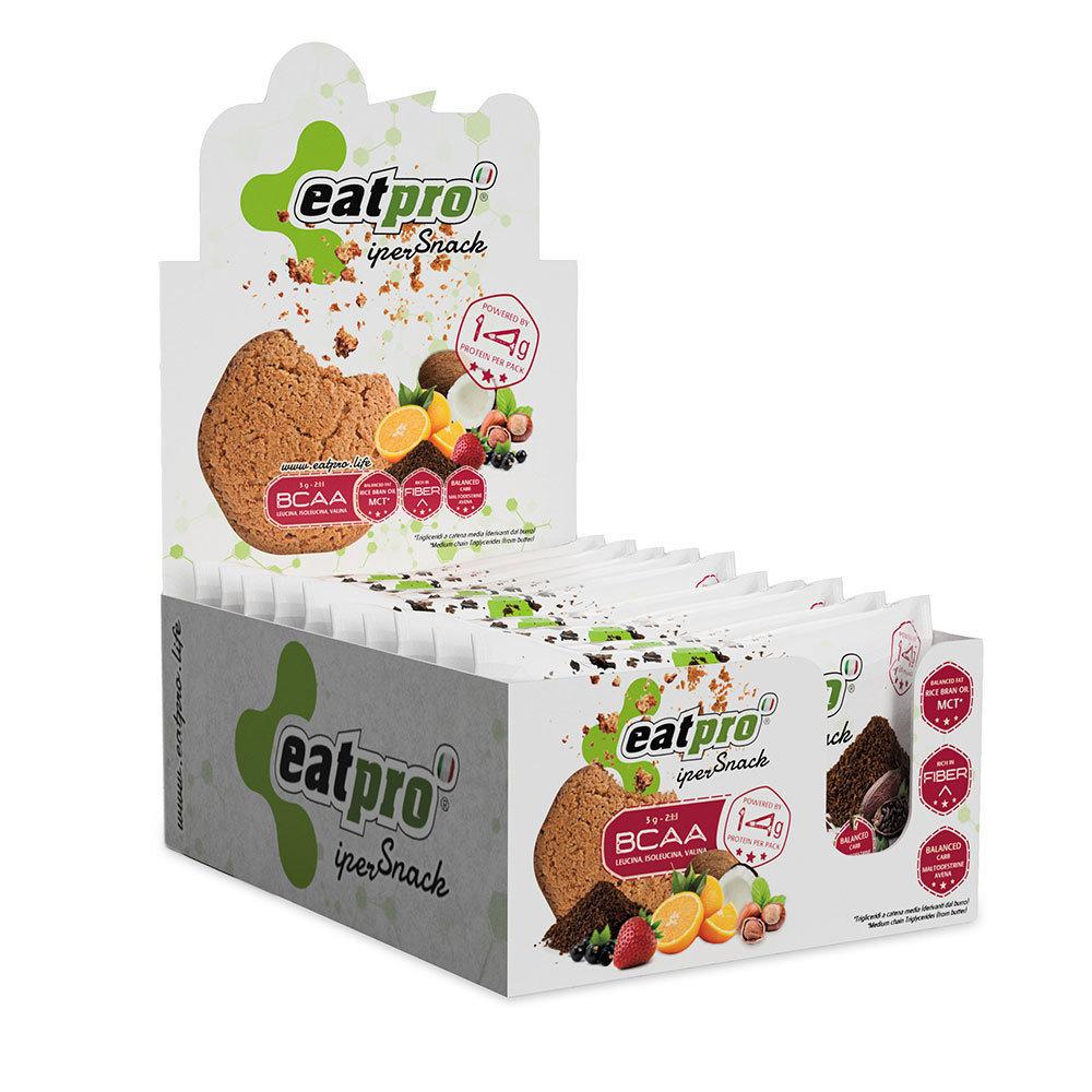eatPro iperSnack al Cacao e Granella di Cacao, con BCAA