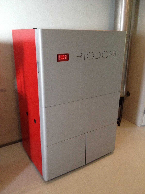 Пеллетный котел BIODOM 33