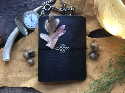 Black Leather Cover (Field Notes Size)