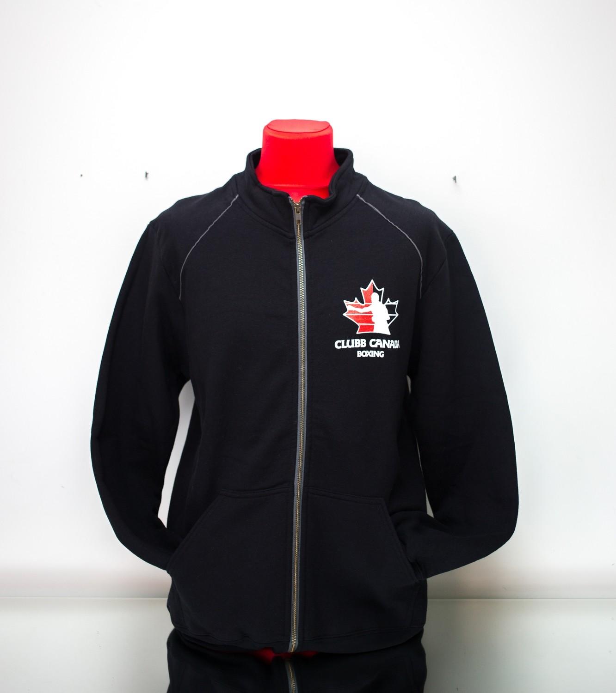 Mens Fabric Full – Zip Jacket