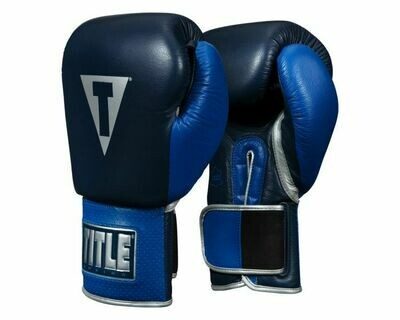 TITLE Boxing Royalty Leather Training Gloves