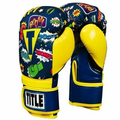 TITLE Infused Foam Super Hero Boxing Gloves