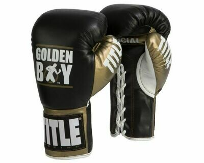 Golden Boy Fight Gloves