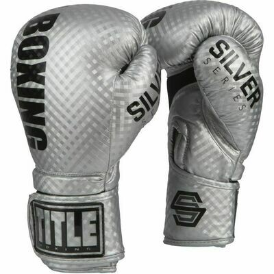 TITLE Silver Series Stimulate Boxing Gloves