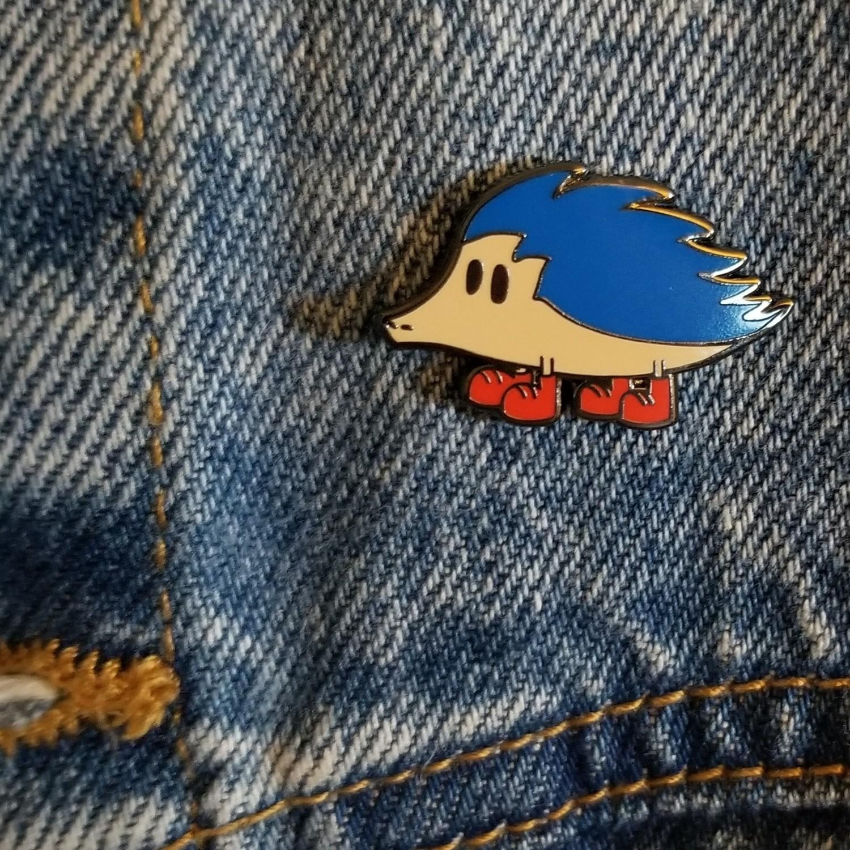 Reasonable Speed the Hedgehog Pin