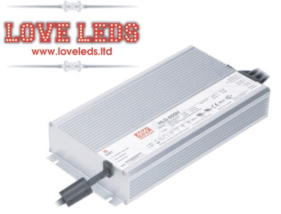 MeanWell HLG-600H-24B (DIMMERBLE)