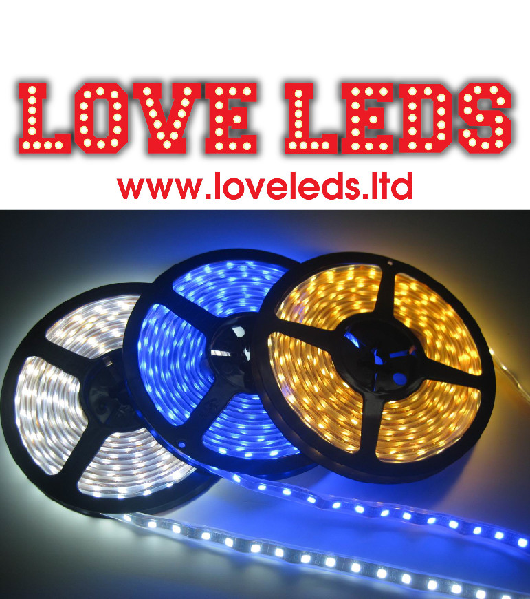 LL403w 60 - ip67 10mm width 12v VARIOUS COLOURS SEE BELOW