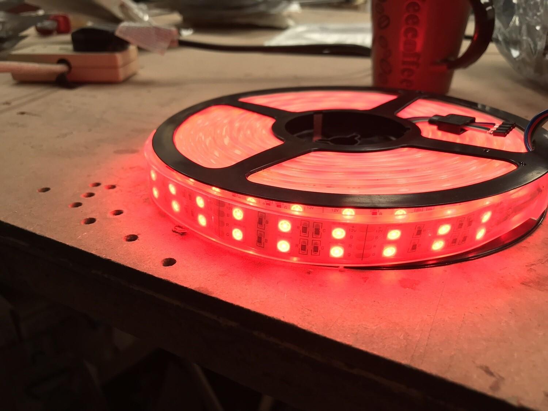 Double Strip RGB Led Strip Lights