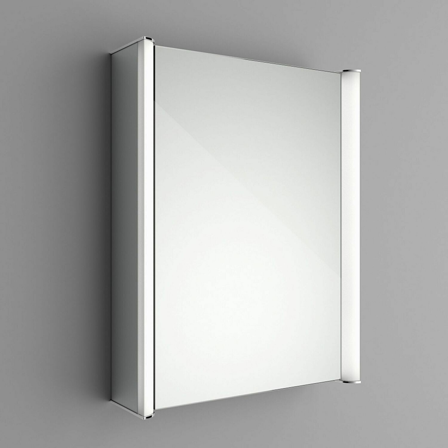 Luminaire Illuminated LED Mirror Cabinet - Bluetooth Speaker & Shaver Socket