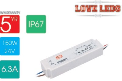 Meanwell LPV-150-24 100w 24v IP67