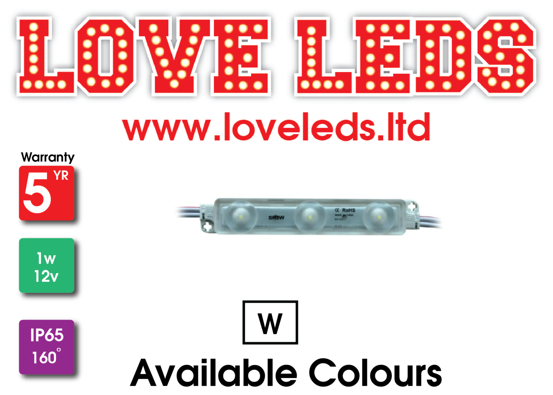 LL2835 1w  IP65 12v