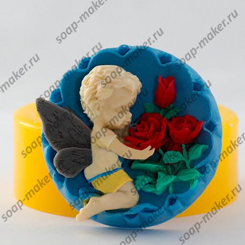 Ангел с розами 2 2D